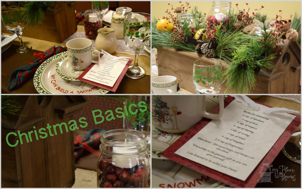 Christmas Tea Tablescapes For The Christmas Tea